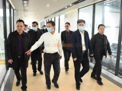 湖南省教育厅党组领导到湖南复星合力参观考察